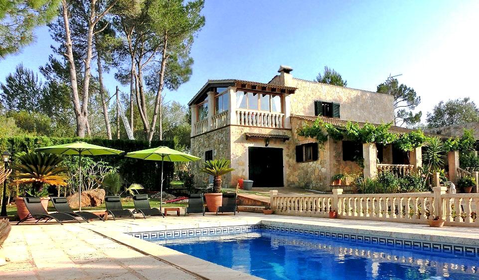 Finca in Sencelles, Mallorca - Finca Patrizia, 3 Bedrooms, Sleeps 6, 2 Bathrooms, Code SC01