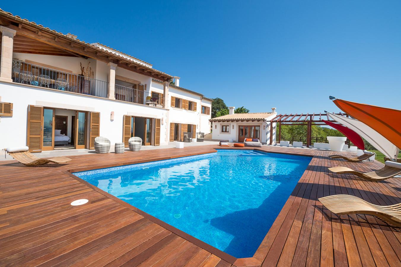 Villa in Campanet (pollenca), Mallorca - Villa Serena, 5 Bedrooms, Sleeps 10, 5 Bathrooms, Code CA02